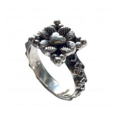 Medeltida ring Ri-56 Wiltshire silver