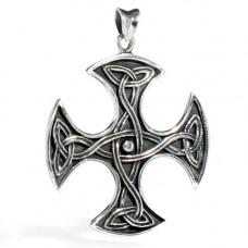 Stort Keltiskt Kors Pe-54 Silver